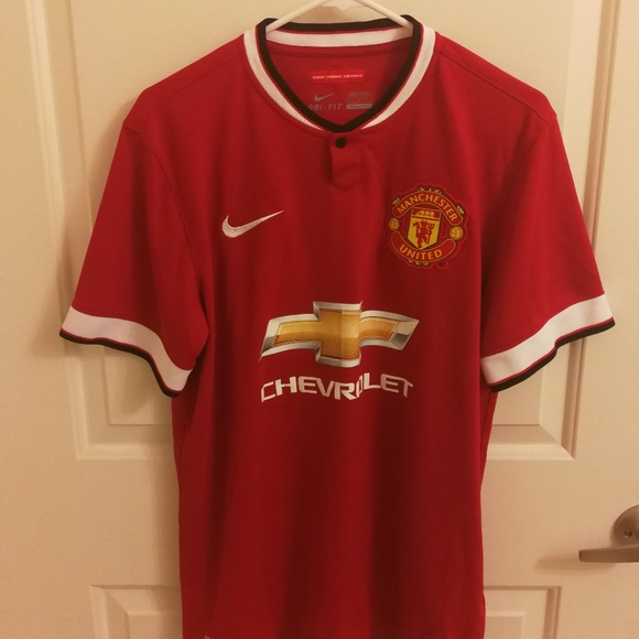 timeless design 52025 b4cfa 2014-2015 Manchester United Jersey